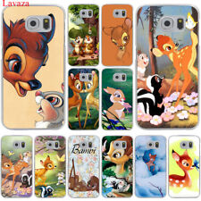 Cute Deer Hard Cover Mobile Phone Case for Samsung Galaxy S7 S6 Edge S8 S9 Plus
