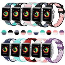 Replacement Silicone Sport Band For Apple Watch Series 4/3/2/1 iWatch 42mm 38mm