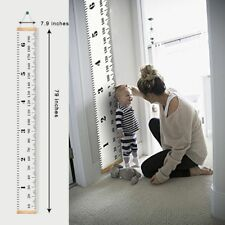 Baby Height Growth Chart Hanging Rulers Measure Height Gauge Sticker Home Decor