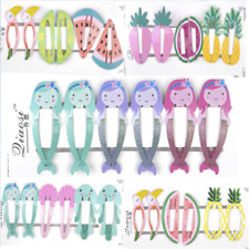 6PCS Girls baby Hair Clips Snaps Hairpin Girls Baby Kids Hair Bow Accessory Lot