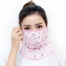 Neck Protection Face Mask Sun Protective Shade Anti-dust Mouth Mask