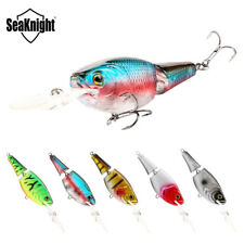 Floating Fishing Lure Hard Crank Bait Long Tongue Artificial Wobblers Tackles