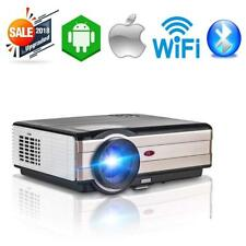Android 6.0 Home Theater Projector Bluetooth HDMI 1080p Miracast Movie Xbox Game