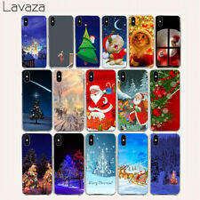 Shell Phone Christmas Slim For iPhone 6 Plus 8 6S 5S 7 X XS Max Cover N4302 Case
