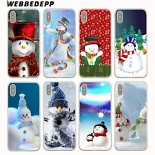 For iPhone 6 Plus 8 6S 5S 7 X XS Max Phone Cover Back Christmas Shell Case N4295