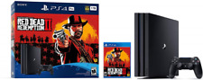 PlayStation 4 1TB Console w/Controller Play Video Games Various Options