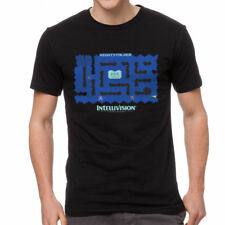 Intellivision Night Stalker Game Men's Black T-shirt NEW Sizes S-5XL