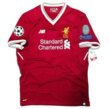 2017/18 Liverpool FC New Balance Home Jersey MT730005 Authentic Jersey Medium