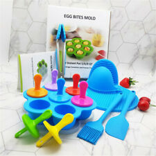 7PC/Set Silicone Egg Bites Mold for Instant Pot Accessories Baby Pot