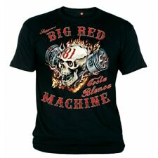 01 Hells Angels Big Red Machine Piston Scull Support81 T-Shirt