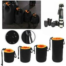1Pcs Waterproof Camera Lens Pouch Bag Neoprene Protector For Sony Canon Nikon