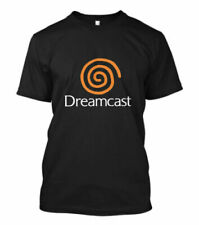 New Dreamcast Sega Logo Short Sleeve Men's Black T-Shirt Size S-3XL