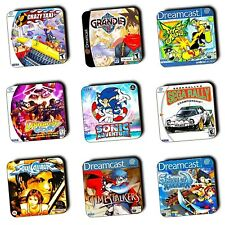 Sega Dreamcast Games Box Art themed - Wooden Coasters - Gaming Gifts - 4 For 3