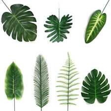 Hawaiian Party Decoration Simulation Leaf Artificial Plant Tropical Palm Leaves