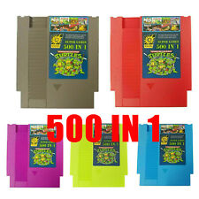 500 IN 1 Super Games Collection Cartridge for NES Classic NTSC PAL Game Consoles