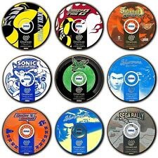 Dreamcast Games - Disc Art - Coasters - Wooden - PAL - Sega Dreamcast - 4 For 3