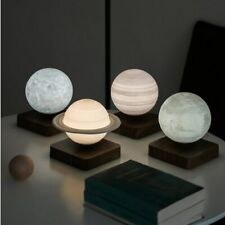 Night Light Creative 3D Magnetic Levitation Moon Lamp Rotating Christmas Led