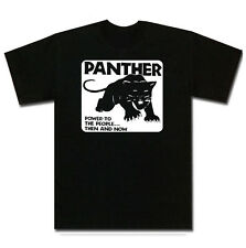 Black Panther Party Political T Shirt