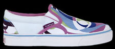 Kustom Anabel Summer Women's Slip Ons White/Violet- NEW