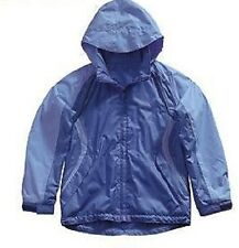 Girl's Regatta 'Melody' Blue  Waterproof Jacket.