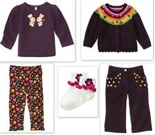 Gymboree ALL ABOUT BUTTONS Top Pant Sweater UPIC 6 9 12