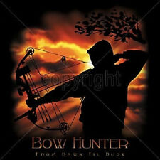 Bow Hunter From Dawn Til Dusk T-Shirt All Sizes & Color (238)