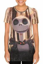 Nightmare Before Christmas Jack Allover Burnout T-shirt