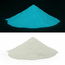Glow in the dark pigment powder.Aqua blue glow powder