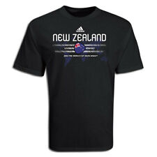 adidas New Zealand World Cup  WC 2010 Country Pride Soccer Shirt Black