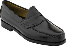 Bass Logan Mens Leather Black Shoes D,B,EEE 7-15