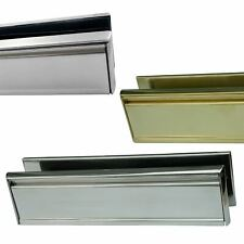"12"" inch Stainless Steel Letter Box- Upvc, Timber Doors"