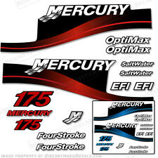 Mercury 175hp Outboard Decal Kit 175 Blue or Red 1999-2004 -All Models Available