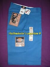 "Dickies Mens 42283 RB 13"" Loose Fit Cell Multi Use Pocket Work Short Royal Blue"