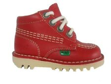 Kickers Kick Hi Juniors Core Red (A12) Boots 12.5-2.5