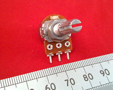 Mixer Potentiometer 16mm, Linear Mono B Pot with T18 Splined Shaft.