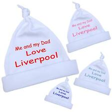 Me Dad Love LIVERPOOL Baby Clothes  HAT NB-12months