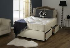 Double 4.6FT Bed Master Firm Orthopaedic Divan Bed Set