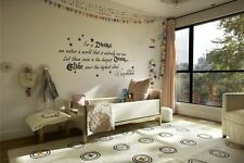 For In Dreams We Enter A World Vinyl Wall Decal