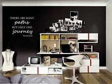 There Are Many Paths Vinyl Wall Decal