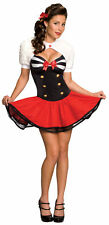 SECRET WISHES NAVAL PINUP ADULT WOMENS COSTUME Sexy Dress Sailor Theme Party