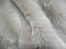 Super Luxury Faux Fur Fabric - Pink Frost - All Sizes Bulk Discounts FREE POST