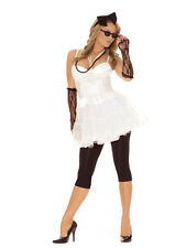 80S ROCK STAR ADULT WOMENS COSTUME Sexy Rocker Chic Attire Groovy Concert Party