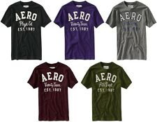 Aeropostale mens Frayed Graphic Aero Logo T shirt Tee  XS,S,M,L,XL,2XL,3XL NEW