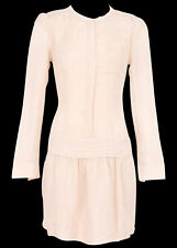 new RRP $200 COUNTRY ROAD PALE NOUGAT PINTUCK BUSINESS DRESS