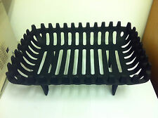 Cromwell Fire Grate Dog Basket 16 or 18 Real Coal Log solid fuel with legs Iron