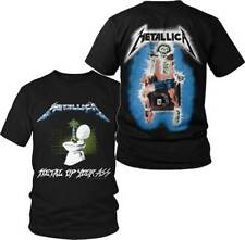 METALLICA - Justice - T SHIRT S-M-L-XL-2XL Brand New - Official T Shirt