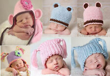 Lovely Cute Gorgeous Newborn Baby Boy Girl Knit Hat Beanie Cap New 14 Color Gift