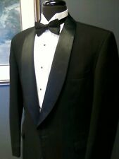 Black Formal Shawl 1 button de la Renta Tuxedo Coat Jacket The Madrid (232 FP)