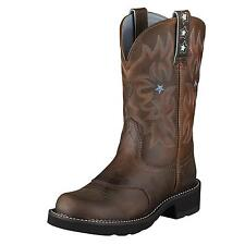 Ariat Women's Probaby Leather Cowboy Western Boots Driftwood Brown 10001132