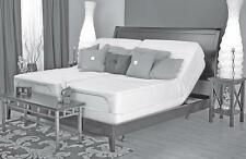 Leggett Platt Prodigy adjustable bed w gel memory foam mattress choices. US-made